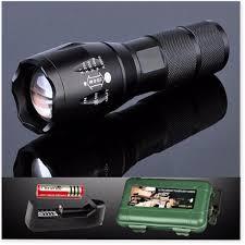 Đèn pin police AMY XML- T6 MỚI siêu sáng kèm sạc và pin sạc, Tặng Hộp Chống  Sốc - BH 1 ĐỔI 1 [GiaSi382]