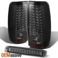 03 06 chevy silverado gmc sierra led smoked tail lights led 3rd image is loading 03 06 chevy silverado gmc sierra led smoked