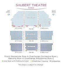 Matilda The Musical Seating Chart Shubert Theatre Lincoln Center Theater