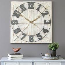 oversized 23 in wall clocks