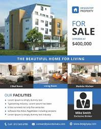 Free Templates For Real Estate Flyers Download The Best Free