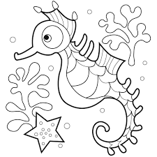 Small Picture Starfish Coloring Pages Miakenas Download And Print Seashell