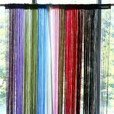 string curtains photo string curtains with beads