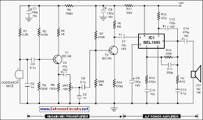 condenser mic audio amplifier circuit diagram motorcycle schematic condenser mic audio amplifier circuit diagram