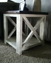 Coffee Table End Tables Ana White Rustic X Coffee Table Diy Projects