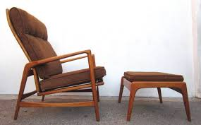 mid century danish lounge chair. Plain Century 1950 Danish MidCentury Modern Lounge Chair And Ottoman Ib KofodLarsen In And Mid Century
