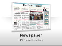 Newspaper Powerpoint Template Beauteous Editable PowerPoint Newspapers Template