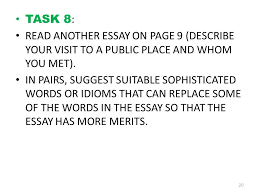 Describe Your Essay Guidelines For Enhancement In Essay Writing Part 3 Ppt Video