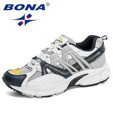 BONA <b>2020 New</b> Designers <b>Popular</b> Casual Shoes Men Outdoor ...