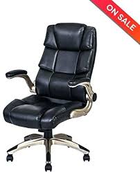 ergonomic high back leather office chair adjule padded flip up arms with uk