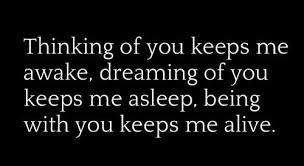 Dreaming Of You Love Quotes