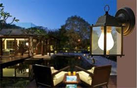 1x european style outdoor led porch lights wall sconces waterproof outdoor lamps for balcony aisle corridor garden black