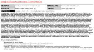 Tableau Architect Resumes Cover Letters Cv Letters Resumes