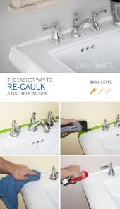 it s amazing how a little re caulking can make all the difference in your bathroom