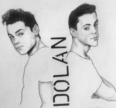 graphite drawing amaizing grayson ethan dolan uploaded by originalsanch