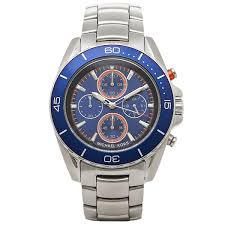 brand shop axes rakuten global market michael kors watches michael kors watches michael kors mk8461 silver blue