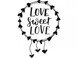 sticker love sweet love magic stickers