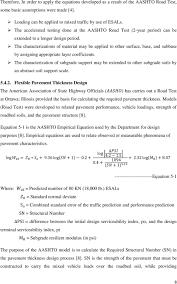 Aashto 93 Flexible Pavement Design Software Development For The Aashto And Era Flexible