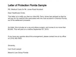 letter of protection florida sample 304 1