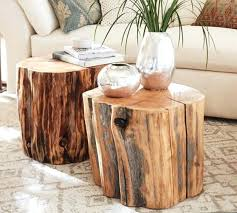 tree top coffee table trunk nightstand round mp desk natural cypress stumps for