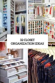 closet organizer ideas. Delighful Closet 32 Closet Organization Ideas Cover On Closet Organizer Ideas T