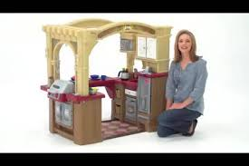 step2 grand walk in play kitchen grill with 103 accessories com