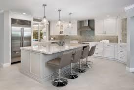 breakfast bar lighting. Light Granite Countertops With Coffered Ceiling Eat In Kitchen Breakfast Bar Lighting R