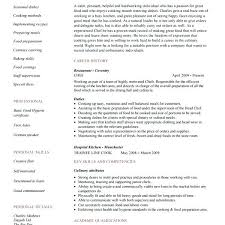 Sous Chef Resume Template Inspiration Sous Chef Resumes Chef Sample Resume Templates Best Of Personal Sous