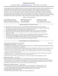 Senior Accountant Resume 10 John J Gallo Cpa Br Lakewood Co 80226