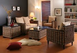Living Room Wicker Furniture Furniture Waste Material Living Room Furniture Ideas With Rattan