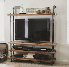 industrial diy furniture. Industrial Diy Furniture. Furniture, Cool Homemade Tv Stands Made From Wood And Furniture N