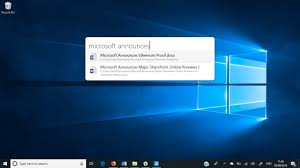 Microsoft Spotlight Jarvis Universal Search For Windows 10 Offers Spotlight