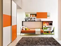 Orange Bedroom Decor White And Orange Bedroom