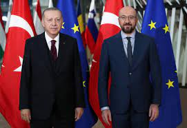 President Erdoğan, European Council president discuss East Med in phone  call