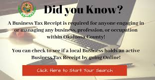 Business Receipt Business Tax Receipt Search Okaloosa County Tax Collector