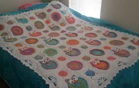 Crochet Owl Blanket Pattern Free Gorgeous Crochet Owl Baby Blanket Pattern Free Dancox For