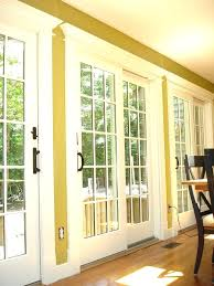 replace sliding glass door with french door marvellous sliding glass french doors 4 panel sliding glass