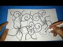 Batik doodle indonesia 5 flowery batik truntum bilingual steemit. Gambar Batik Bunga Ornamen 3 Youtube