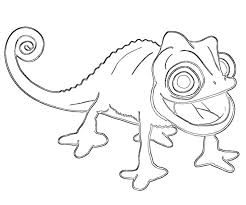 Small Picture Printable Tangled Coloring Pages Coloring Home