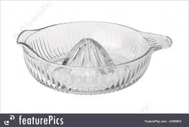 old fashioned glass juicer royalty free stock picture