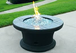 glass fire pit table propane glass fire pit fire pit table glass rocks outdoor propane fire
