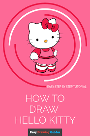 How To Draw Hello Kitty In A Few Easy Steps Easy Drawing