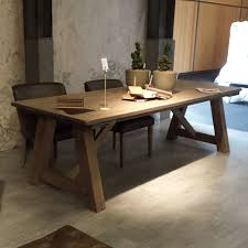 reclaimed wood dining table di reclaimed wood dining table di