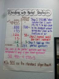 Division Steps Anchor Chart 4th Grade Quarter 2 Russell Elementary Math Blog 4th Grade