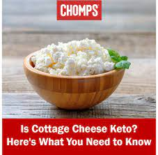 Add the almond flour, a low carb granulated sweetener like stevia, baking powder, cottage cheese, 2 large eggs, and pure vanilla extract to either an immersion blender or a. Is Cottage Cheese Keto Carbs Calories And More Chomps