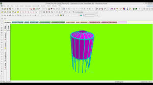 Small Picture Design of Elevated CIRCULAR Water Tank in Staad Pro V8i YouTube