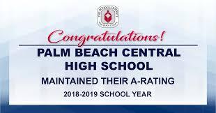 Semester Grade Chart Palm Beach County Home Palm Beach Central High School
