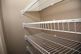 awesome metal wire shelf install shelving innovative decoration