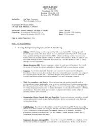 Psw Sample Of Resume And Sample Of Good Psw Resume Cover Letter Personal Support