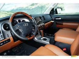 Red Rock Interior 2012 Toyota Tundra Platinum CrewMax 4x4 Photo ...